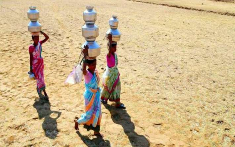 Even after many years of Independence, this village does not have drinking water system