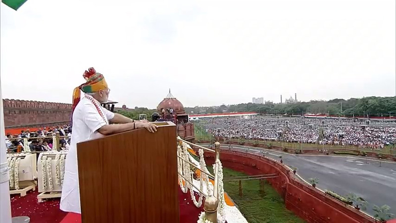 10 Points about pm Modi speech from red fort on 15th august 2019