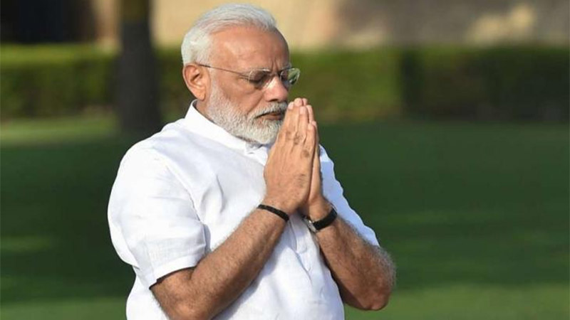 pm narendra modi fasts for the entire nine days in navratri strictly abides by the rules