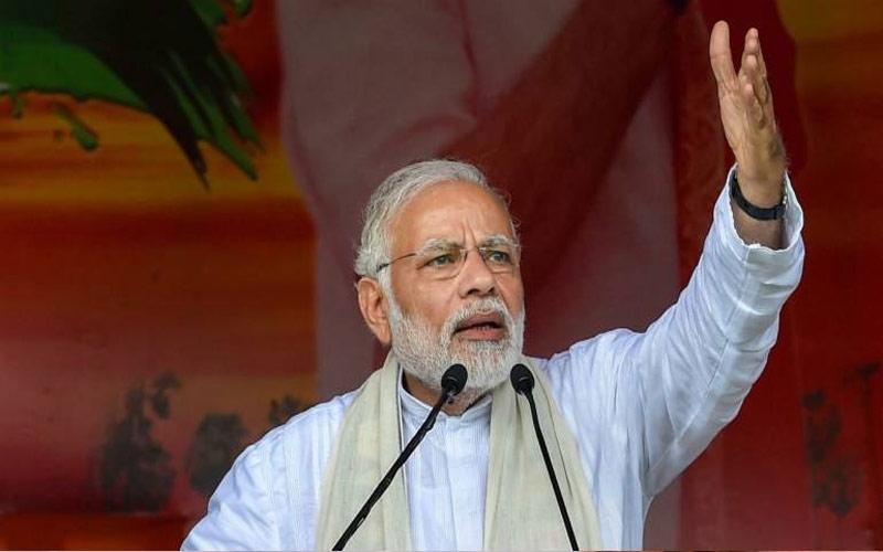 છત્તીસગઢમાં PM મોદીએ કહ્યુ   ''જેણે પત્રકારને માર્યો  તેણે ક્રાંતિકારી જણાવે છે કોંગ્રેસ''