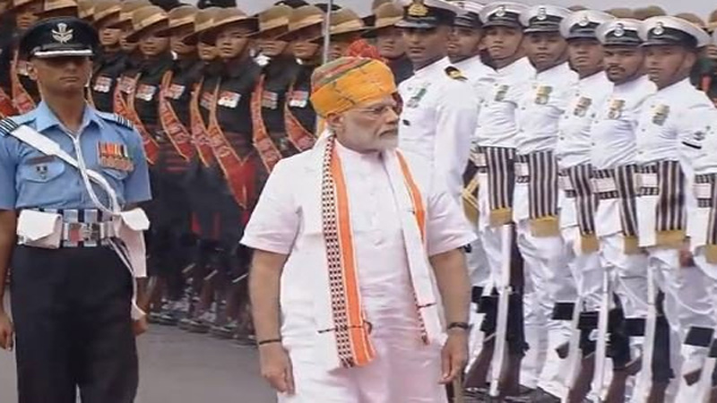 PM Modi takes a historic decision from Red Fort for the Indian army