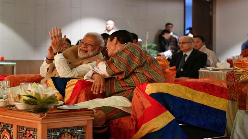 PM Bhutan Pravas Second Day at Royal University