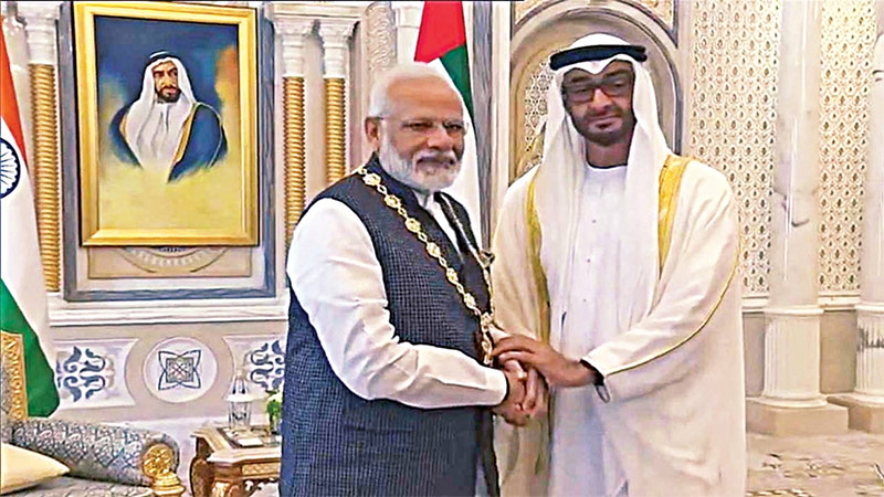 UAE to Confer PM Modi with Highest Civilian Award as Pak Musters Islamic Nations Support on Kashmir