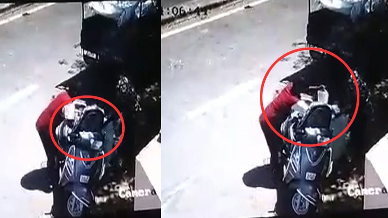 Alcohol is openly sold in Ahmedabad, scenes captured on CCTV