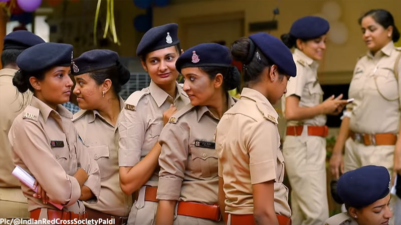 Police Department Endorsed a Blood Donation camp but 50% Police Women couldn't donate. The reason will surprise you