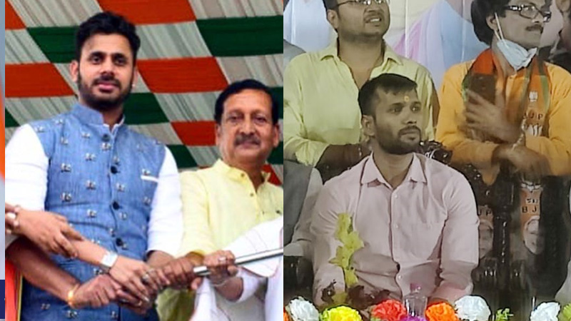 ashok didna and manoj tiwari enters in politics