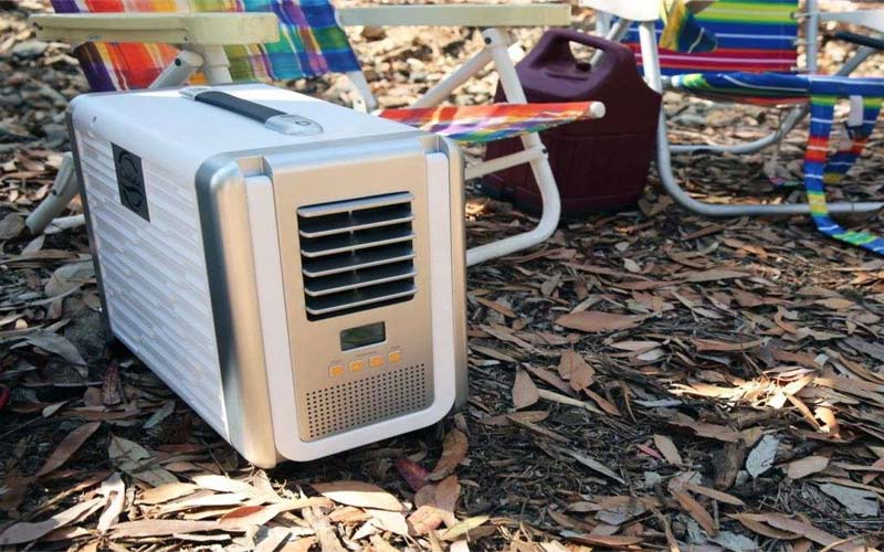 use solar powered portable air conditioner