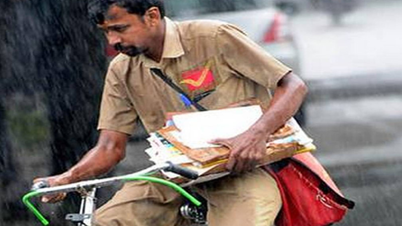 4000 vacancies on gramin dak sewak posts in indian postal services appointment will be without any written test or interview...