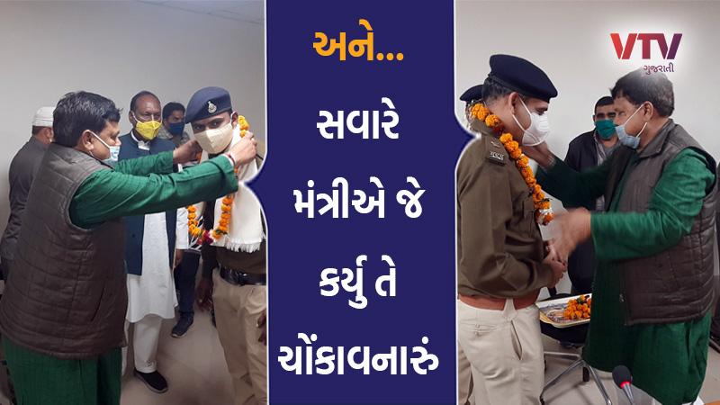 madhya pradesh cabinet minister pradhuman singh tomar police