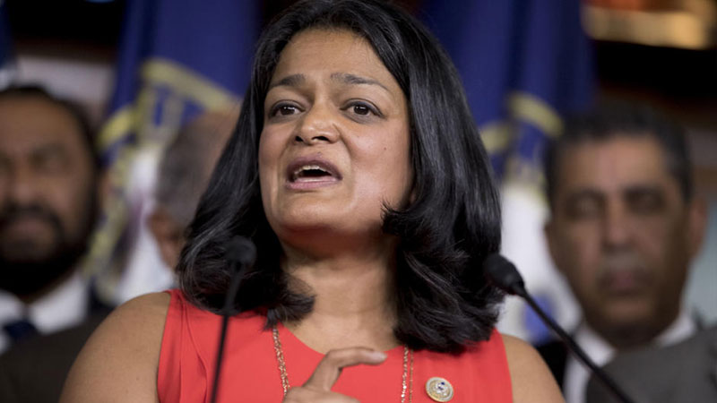 indian origin american lawmaker pramila jayapal is upset by reports of arrests in kashmir