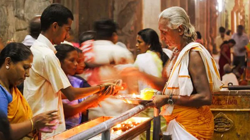 know temples which are known for their different prasad