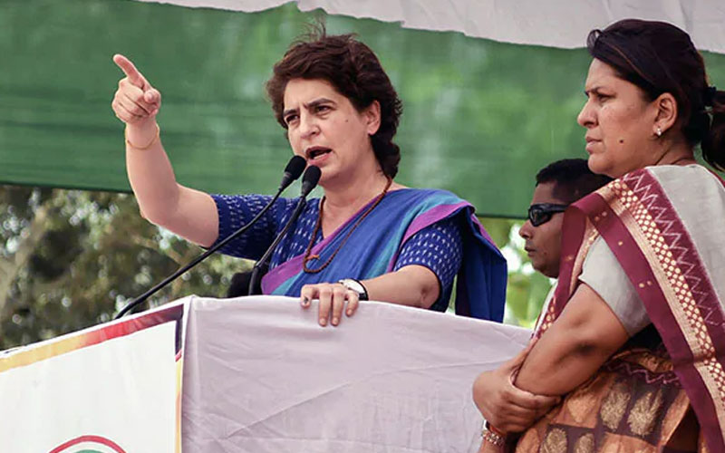 priyanka gandhi attacks on cm yogi adityanath government