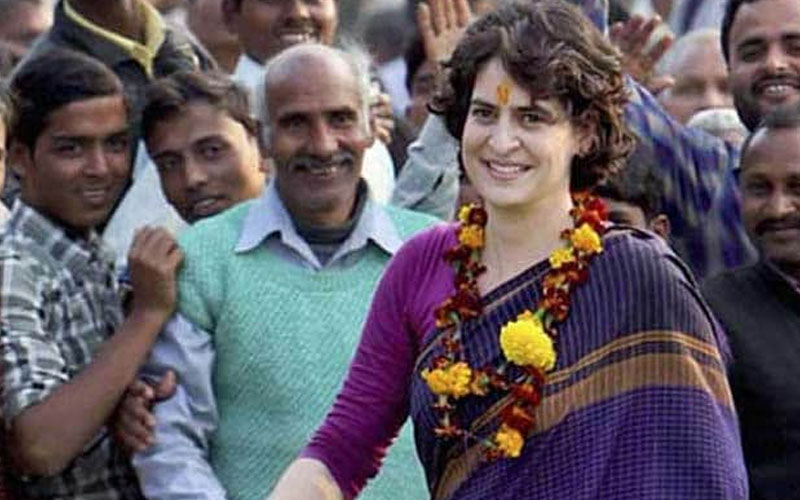 priyanka gandhi will meet congress workers for strategy of up assembly elections