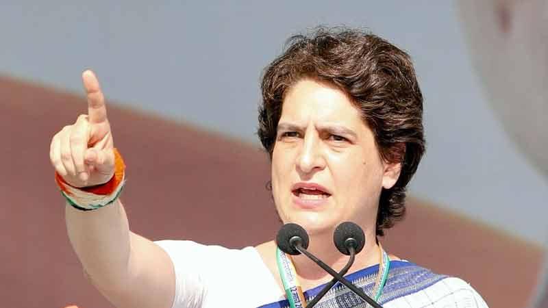 congress leader priyanka gandhi pm modi sab changa