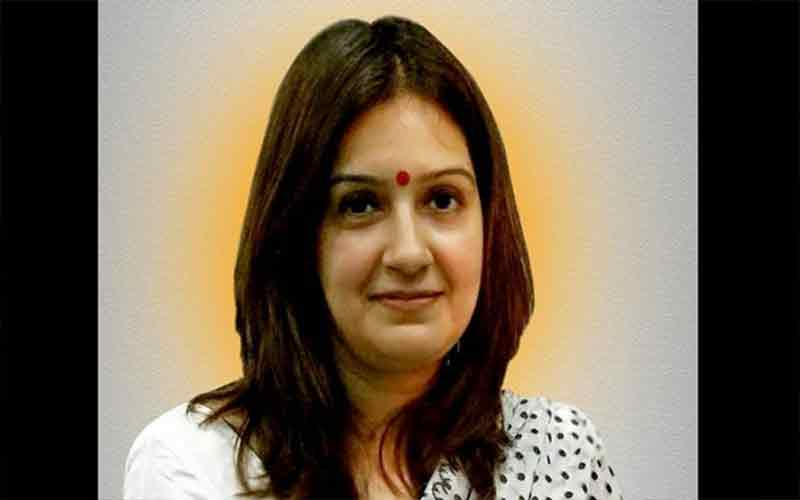 priyanka-chaturvedi-tweet-on-abusive-behavior-by-congress-workers