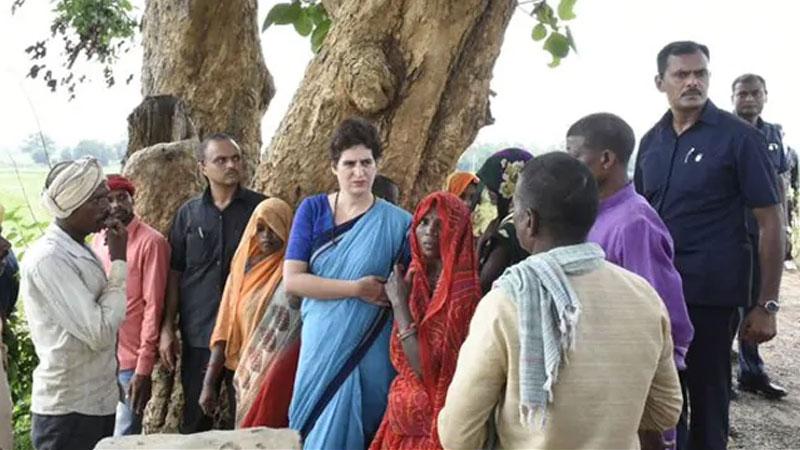 priyanka gandhi vadra tweet on sonbhadra killings case