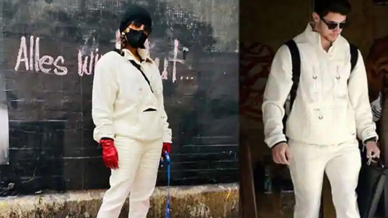 bollywood after sharing the photo priyanka chopra wrote nick jonas i enjoy stealing your clothes