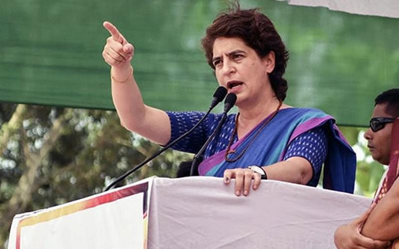 Priyanka Gandhi fails to make impact in Uttar Pradesh congress bjp lok sabha election 2019