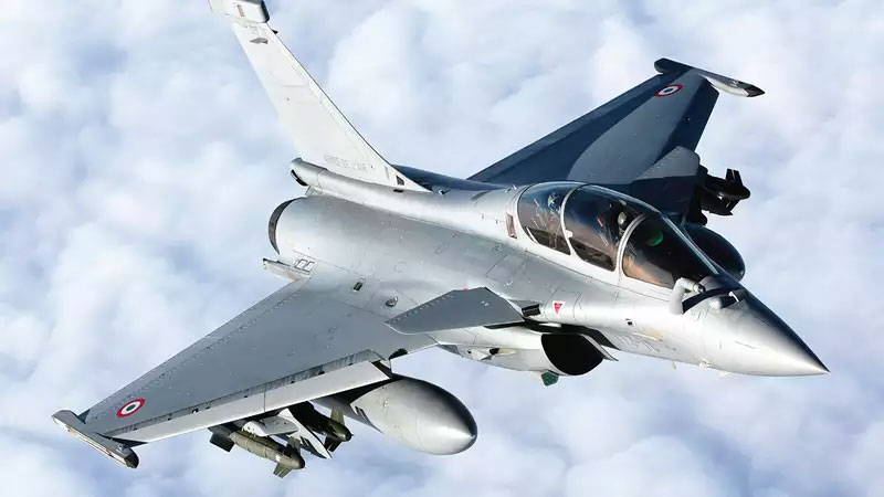 Rajnath Singh to receive rafale jets for Indian air force
