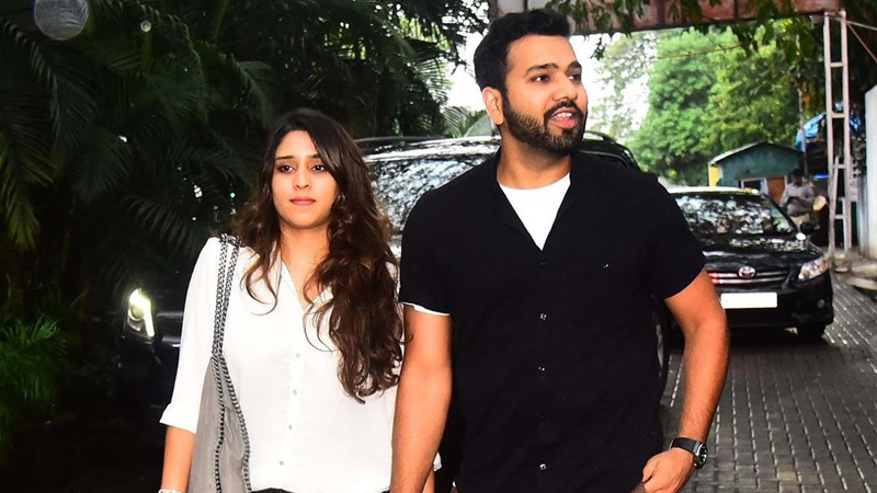 indian cricketer rohit sharma and ritika sajdeh love story