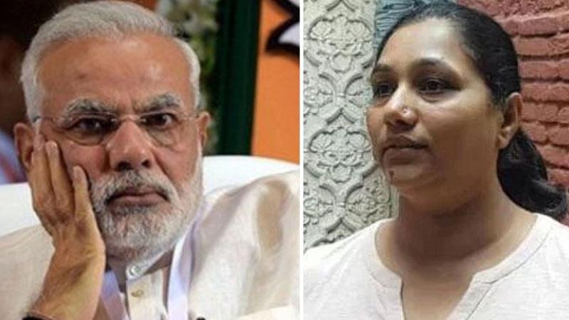 accused in purse snatching of Damayanti ben Modi arrested