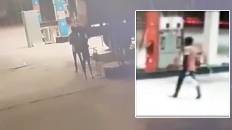 Hyderabad gang rape case petrol pump CCTV police encounter