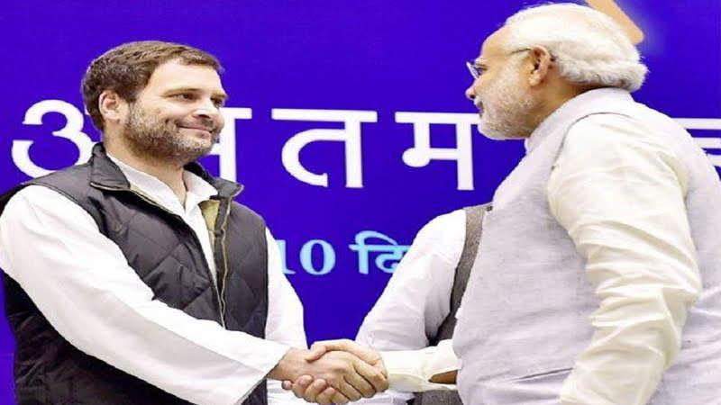 Rahul Gandhi tweets PM Modi's speech