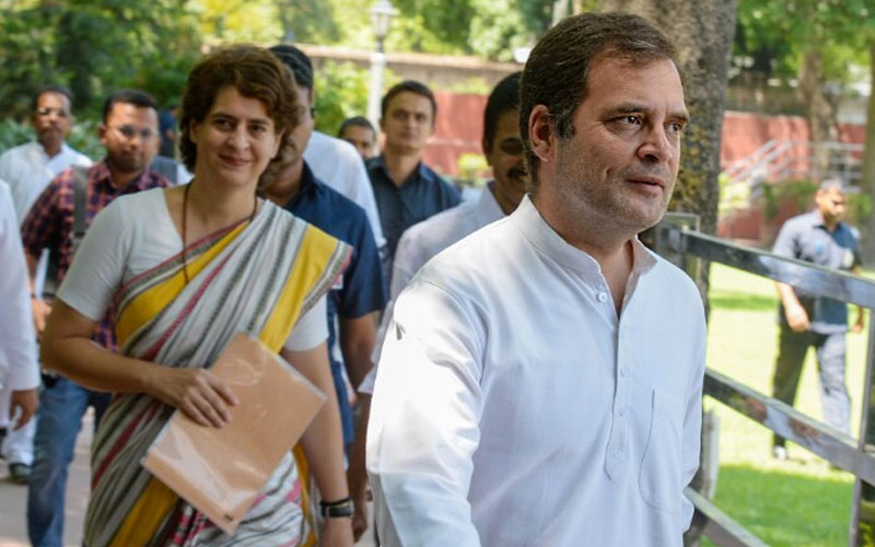 election results 2019 congress meet at rahul gandhi residence over rajasthan political crisis