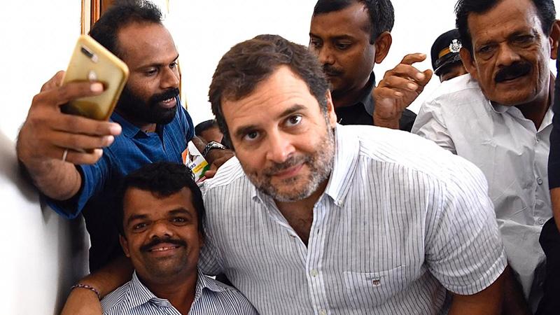 Congress leader hints at Rahul Gandhi return as party president