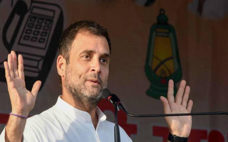 કોંગ્રેસ અધ્યક્ષ રાહુલ ગાંધી આજે ગુજરાતમાં, અમરેલી લોકસભા બેઠક પર ગજવશે સભા
