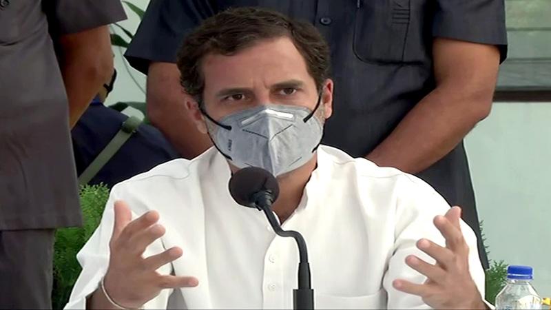 congress mp-rahul gandhi on hathras rape case dalits muslims tribals up cm yogi