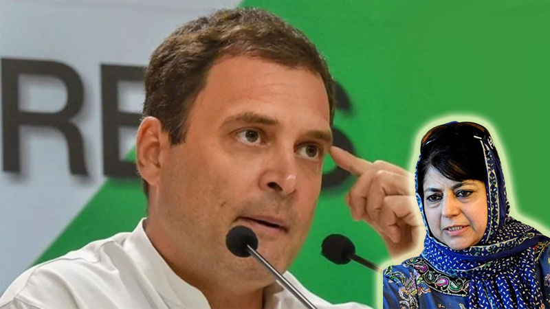 Rahul Gandhi slams central govs decision to extend muftis imprisonment
