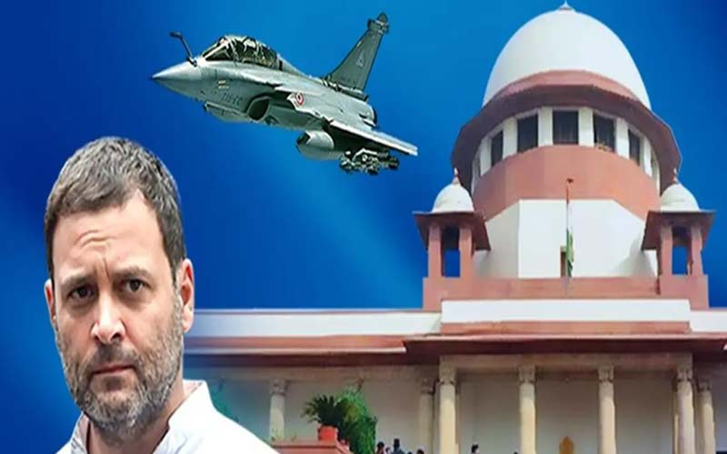 Rahul Gandhi expresses regret, says remark that SC said Modi is corrupt in Rafale made in heat of political campaign