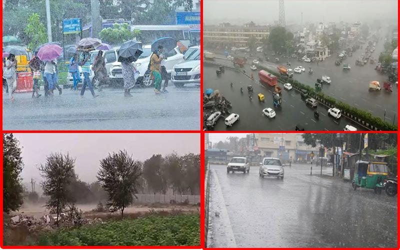 ચૂંટણીની મોસમ વચ્ચે ગુજરાતનું હવામાન બદલાયું, ક્યાંક વરસાદ તો ક્યાંક ભારે પવન