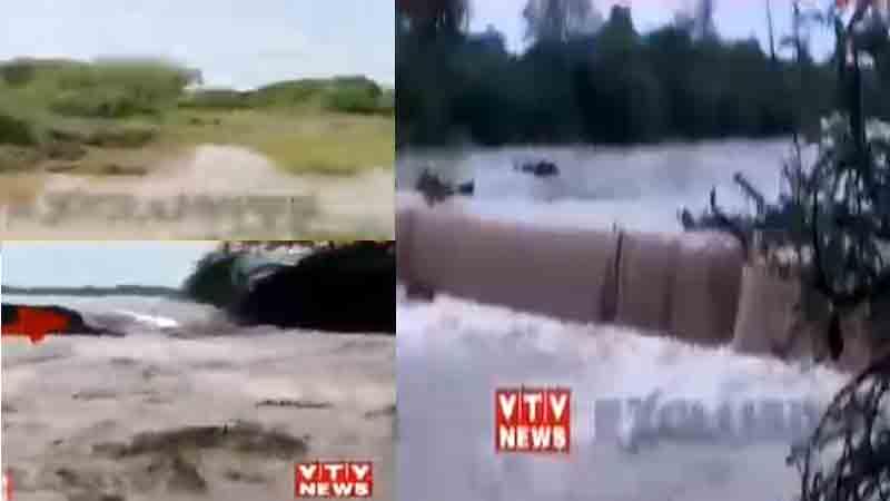 Jamnagar District Heavy Rain 8 dam overflow