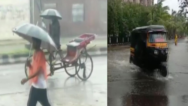 monsoon intense rainfall spell over northeast bihar east up during 9-10 july