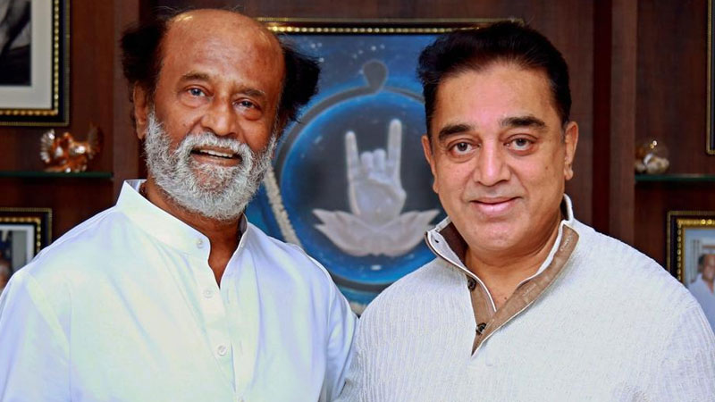 if needed me and rajinikanth can come together for the development of tamil nadu says kamal haasan
