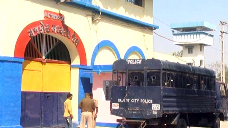 rajkot murder jail prisoner suicide