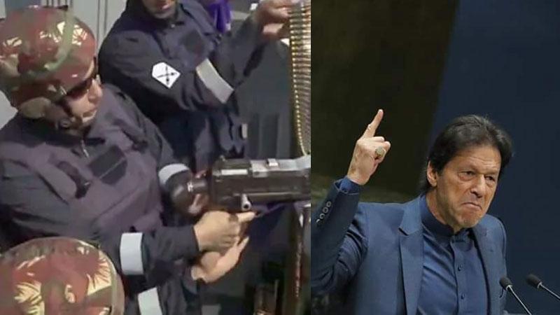 Rajnath singh said 26/11 will not happend again Imran Said We will do jihad with the Kashmiris