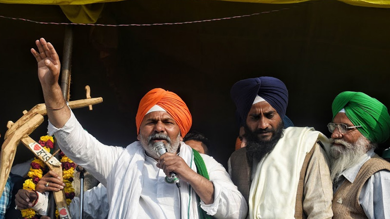 new delhi city ncr sanyukt kisan morcha warns to bjp mps and mlas that will make it difficult to get out of the house