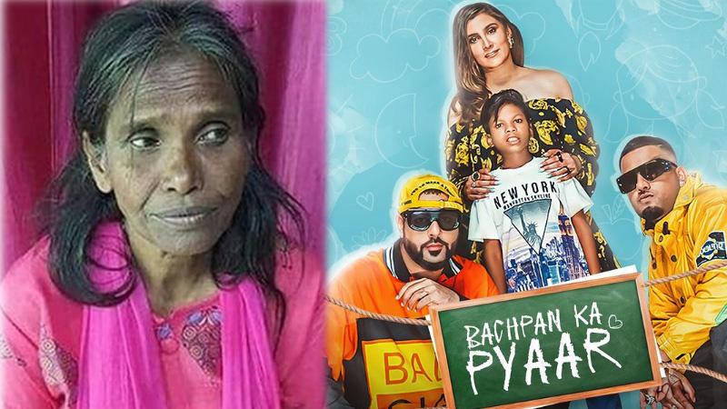 viral social ranu mandal singing bachpan ka pyar song of badshah and sahdev dirdo video viral