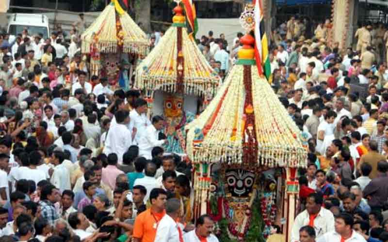 India Third Biggest Ahmedabad Rath Yatra 2019