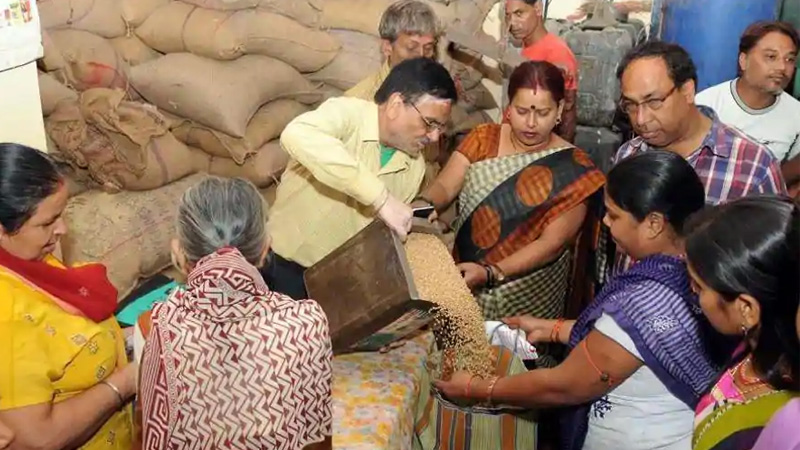 idfc first bank launches ghar ghar ration program you can get benefit of free ration check details