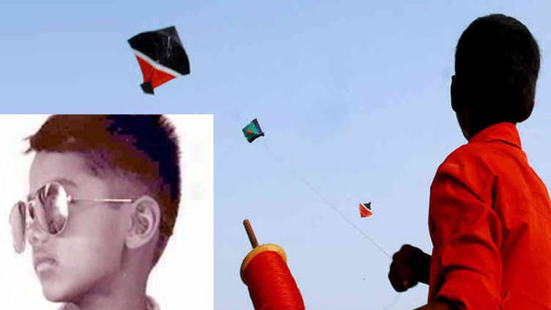 Childs death injure fly kite rajkot surat jodhpur gujarat