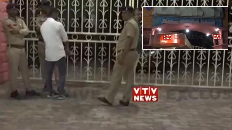 Rajkot Krishna Waterpark police raid SOG officer's Alcohol party