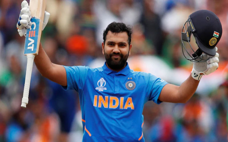 rohit sharma century bangladesh world cup 2019 record