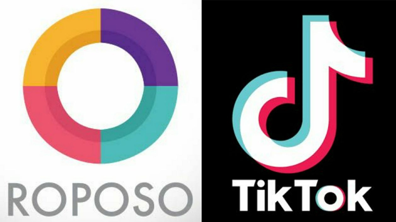 Made In India Roposo Gets Huge Popularity Within One Day after Tiktok Ban