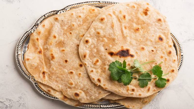 reasons why we cant serve three chapatis in thali together