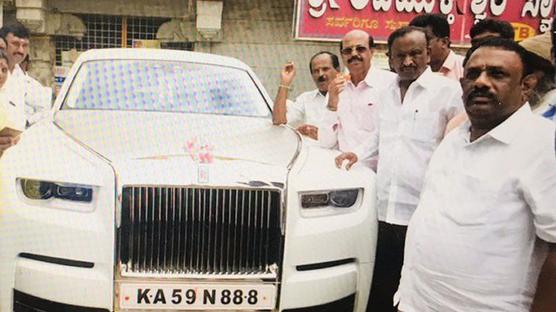 congress rebel disqualified mla mtb nagaraj buys rolls royce price is 11 crore