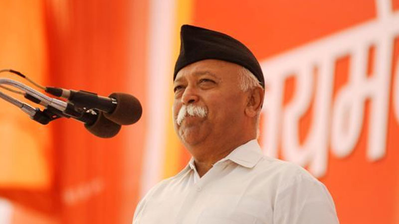 shivsena leaders appeals to rss chief mohan bhagwat to intervene
